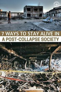 7 Ways To Stay Alive in a Post-Collapse Society - It will be the adaptation and common sense actions that allow the survivor to thrive in a new fallen world. This is a great article about surviving in a fallen environment and how you can integrate behaviors into your life that will, in turn, prolong it. Pay attention to this one. #prepping #preparedness #prepper #survival #shtf #selfsufficient