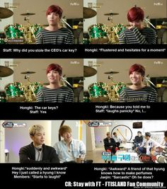 Why FTISLAND can't do variety shows XD