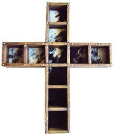 Cross Belt Buckle Display Case, $135.00