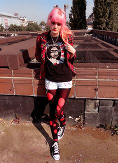 cute punk outfits tumblr - Google Search