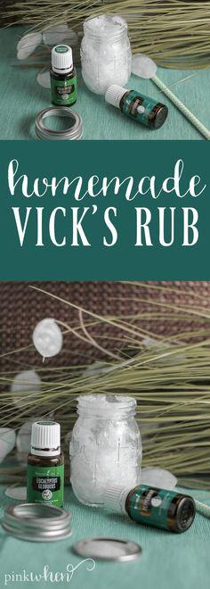 Easy 3 Ingredient Homemade Vicks Rub Recipe