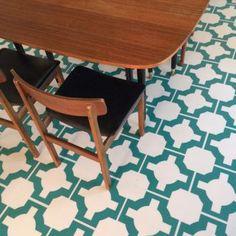 Mid century modern. Neisha Crosland luxury vinyl flooring tiles by Harvey Maria.