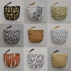 POCKET POUCH by bookhouathome on Etsy