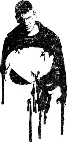 The Punisher Fan art (as a t-shirt pic as always) Daredevil (season 2) Marvel Netflix Tumblr - mad42sam.tumblr.com/post/14357…