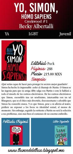 Yo, Simon, Homo Sapiens (Creekwood #1) de Becky Albertalli
