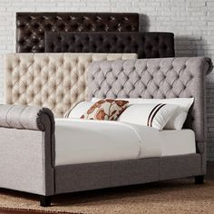 Shop for SIGNAL HILLS Knightsbridge Rolled Top Tufted Chesterfield King Headboard. Get free delivery at Overstock.com - Your Online Furniture Shop! Get 5% in rewards with Club O!