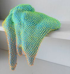 Blobs That Appear to Ooze From Gallery Shelves by Dan Lam - -Amorphous Technicolor Blobs That Appear to Ooze From Gallery Shelves by Dan Lam - - New Neon Organic Sculptures by Dan Lam New Multi-Colored Sculptural Blobs Covered in Spongy Spikes by Dan Lam Organic Sculpture, Soft Sculpture, Elefante Tribal, Creation Art, Sculptures Céramiques, Colossal Art, Arte Popular, 3d Prints, Art Abstrait