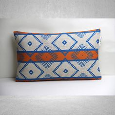 Geometric Pillow Cover Lumbar Pillow Cover by SamanthaEmma on Etsy, $19.50