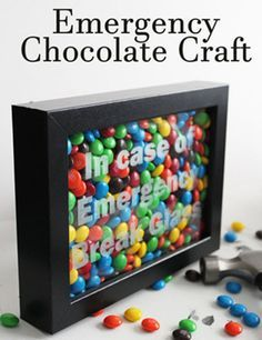 Chocolate Emergency Kit – In Case Of Emergency Break Glass - DIY Gift World