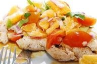 Grilled Chicken and Key Lime Salsa, Weight Watchers 3 pts