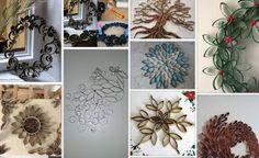ΚΑΤΑΣΚΕΥΕΣ με ΡΟΛΟ ΧΑΡΤΙΟΥ Diy And Crafts, Arts And Crafts, Rolled Paper Art, Elderly Activities, Toilet Paper Roll, Creations, Diy Projects, Artwork, Blog