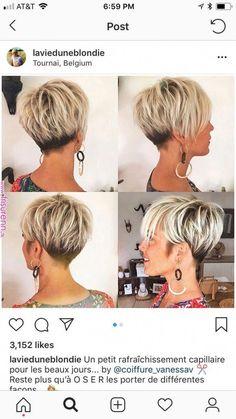 Thin Hair Cuts pixie cut for thin black hair Curly Hair Styles, Cute Hairstyles For Short Hair, Natural Hair Styles, Weave Hairstyles, Black Hairstyles, Undercut Hairstyles, Black Haircut Styles, Haircut Short, Short Bob With Undercut