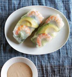 Recipe: Shrimp and Avocado Summer Salad Rolls