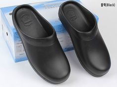 Chef Shoes Kitchen Clogs Oil Water Nonslip Safety shoes kitchen shoes afce2411d