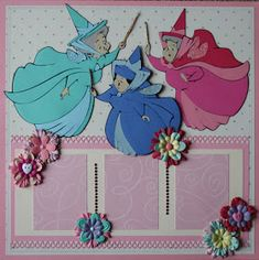 Today& installment is of Sleeping Beauty. I LOVED putting this layout together as I really enjoyed the three fairy god-mothers and all of . Love Scrapbook, Disney Scrapbook Pages, Scrapbook Page Layouts, Scrapbook Cards, Scrapbooking Ideas, Scrapbook Background, Scrapbook Sketches, Dyi, Sleeping Beauty Fairies