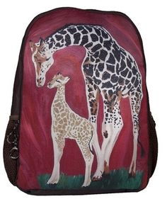 50673ab0fcda Giraffe Backpack by Salvador Kitti On Sale From by SalvadorKitti