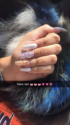 In search for some nail designs and ideas for your nails? Listed here is our list of 33 must-try coffin acrylic nails for trendy women. Dope Nails, Nails On Fleek, Fun Nails, Matte Nails, Acrylic Nails, Acrylics, Nail Shop, Acrylic Nail Designs, Gorgeous Nails