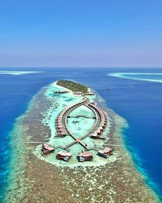 Lily Beach Resort & Spa ⠀ Photography by - Travel Maldives Destinations, Maldives Vacation, Visit Maldives, Most Beautiful Beaches, Beautiful Places In The World, Beach Club Resort, Resort Spa, Places To Travel, Places To Visit