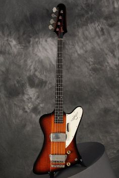 1964 All Original Gibson THUNDERBIRD II Bass Sunburst