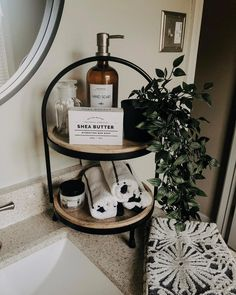 Home Decoration Diy .Home Decoration Diy Bathroom Essentials, Decoration Design, Home Decoration, Bathroom Inspiration, Bathroom Inspo, Bathroom Ideas, Bathroom Counter Decor, Bathroom Counter Organization, Half Bathroom Decor