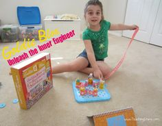 Goldie Blox and the Spinning Machine - Unleash the inner engineer!