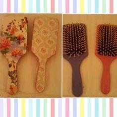 Cepillos para el pelo decorados