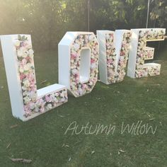 Our giant LOVE letters are now ready to hire for all Sydney Weddings or Events