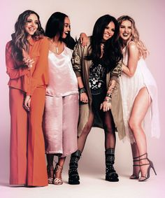 Jade Thirlwall. Leigh Anne Pinnock. Jesy Nelson. Perrie Edwards. Little Mix.