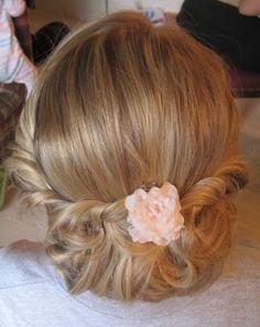 1930's Inspired Bridal Hair