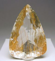 Rutilated Topaz