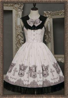 Ista Mori -My Little Angel- Lolita Collar Jumper Skirt