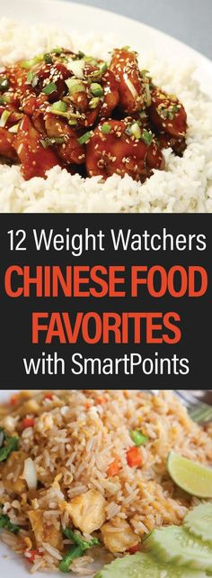 Healthy Weight 12 Weight Watchers Chinese Food Favorites with SmartPoints - Is greasy take-out your dieting downfall? Put down that phone and start whipping up fresh, delicious, and WW-friendly versions of your favorite Chinese dishes Plats Weight Watchers, Weight Watchers Diet, Weight Watchers Smart Points, Weight Watcher Dinners, Wieght Watchers, Weight Watchers Lunches, Weight Watchers Chicken, Ww Recipes, Light Recipes