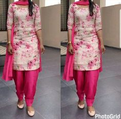 Churidar Designs, Kurta Designs Women, Kurti Neck Designs, Kurti Designs Party Wear, Dress Neck Designs, Saree Blouse Designs, Indian Dresses, Indian Outfits, Punjabi Dress
