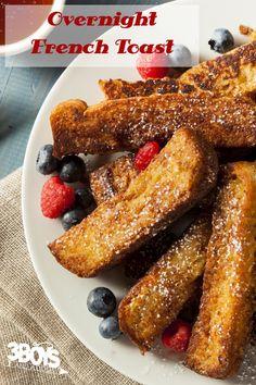 overnight french toast recipe