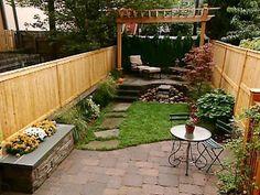 Charming Small Backyard Ideas, Landscape, Design, Photoshoot | Favimages.net