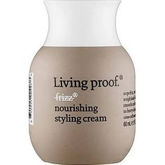 A styling cream that smooths, conditions, and eliminates frizz by blocking humidity without weighing hair down. Living Proof No Frizz Nourishing Styling Cream is the first new anti-frizz technology in
