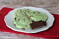 Andes Mint-Chocolate Chip Cookies