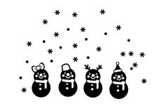 Christmas Snow Ball Removable Home Vinyl Window Wall Stickers Decal Decorations