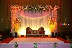 26 ideas birthday candles flower for 2019 Desi Wedding Decor, Wedding Hall Decorations, Luxury Wedding Decor, Backdrop Decorations, Backdrops, Reception Stage Decor, Wedding Stage Design, Wedding Reception Backdrop, Wedding Mandap