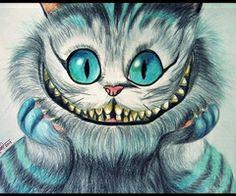 Imagen de cat, smile, and alice in wonderland Cheshire Cat Alice In Wonderland, Alice And Wonderland Quotes, Adventures In Wonderland, Cheshire Cat Drawing, Chesire Cat, Gato Cheshire, Gato Alice, Disney Art, Fantasy Art