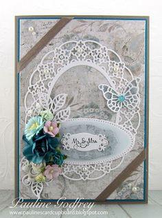 Pauline's Card Cupboard: Wedding # 2 & #3