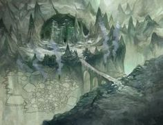 Carn-Dum Loremaster's Map by JonHodgson