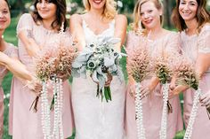 blush BHLDN bridesmaid dresses   sarah rose burns photography