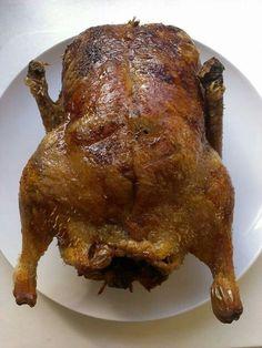 Roast duck. LCHF Keto Primal Paleo.