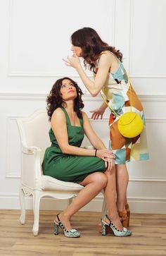Color para esta primavera, #enjoy #tarajarmon #dress #shoes #vicmatie #blogmoda #fashion #streetstyle #aluxuryyou