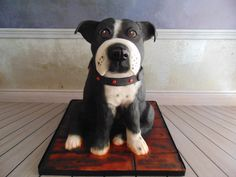 Butch the dog - Cake by For the love of cake (Laylah Moore)