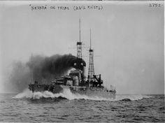 USS Nevada, 1922