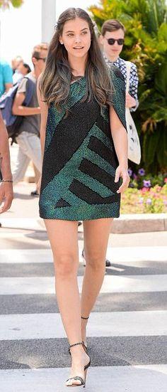 Barbara Palvin flaunts leggy frame in Cannes, France
