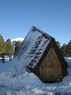 chapel of the holy dove, outside of flagstaff, az
