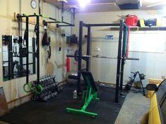 garage gym photo - the green machine gym